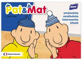 Omalovánky A5 - Pat a Mat - 5300920