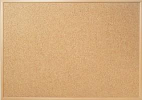 Tabule korková 80 x 50 cm - dřevěný rám