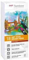 Fixy Tombow - oboustranné 18 ks - Earth colours TABT-18P-3