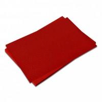 Vlnitá lepenka-červená 50 x 70 cm