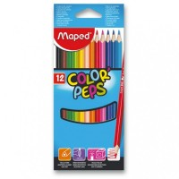 Pastelky Maped Color´Peps - 12 barev 9183212