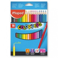 Pastelky Maped Color´Peps - 18 barev 9183218