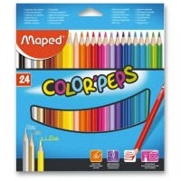 Pastelky Maped Color´Peps - 24 barev 9183224