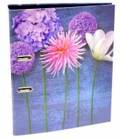 Pořadač lamino A4 - 8 cm - Mix květů -  50017133