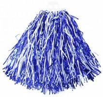 Mávátko Pom Pom - modro - bílé - 129788