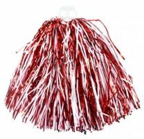 Mávátko Pom Pom - červeno - bílé - 129795
