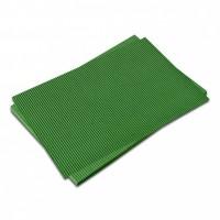 Vlnitá lepenka fluorescenční-zelená 50x70cm