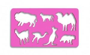 Šablona zvířátek velbloud - 749058