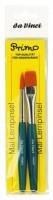 Sada štětců Da Vinci Primo Pinselset Synthetic - 2 ks - 5019b