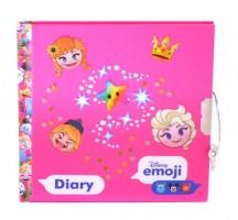 Diář se zámkem - Emoji Frozen - 393463