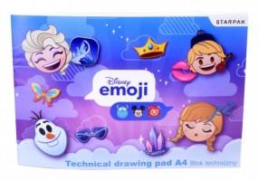Skicák A4 - Emoji Frozen - 398144