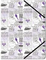 Pouzdro  klopové na dokumenty A5 - Provence 151327