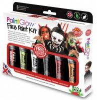 Sada barev na obličej Halloween - GS021