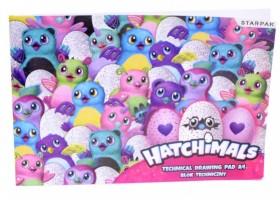 Kreslicí karton A4 - Hatchimals - 405423