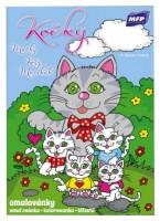 Omalovánky A5 - Kočky - 5300938