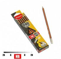Tužka Maped Black´Peps s pryží - tvrdost HB 51721