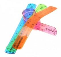 Flexi-pravítko průhledné 30 cm - U5411100