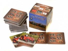 Pexeso - box - Lux - Traktory - 3029
