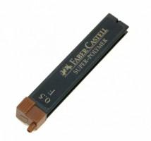 Grafitové tuhy do mikrotužky - Faber Castell - 0,5 mm F - 120510