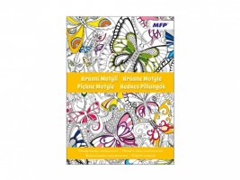 Antistresové omalovánky - Krásní motýli - 5300969