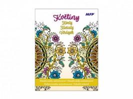 Antistresové omalovánky - Mandaly - Květiny - 5300975