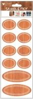 Samolepky popisovací - 30 x 10 cm - 10 ks - 1316