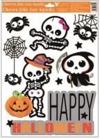 Okenní fólie - Halloween - různé motivy - 968