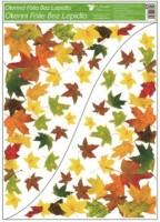 Okenní fólie - rohová - Podzimní listí - různé motivy - 975