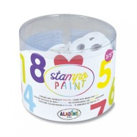Razítka Stampo Aladine - Číslice - 12 ks - 1316/8532450
