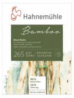 Mini Blok Bambus - Hahnemühle, 10 listů, 265g/m2 -  80 x 105 mm 10603074