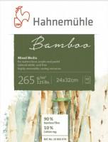 Mix Media Blok Bambus - Hahnemühle, 25 listů, 265g/m2 -  24 x 32 cm 10628540