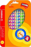 Pastelky STABILO EASY colors pastelky 12 barev pro praváky 332/12