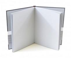 Kniha na portréty Hahnemühle - The Grey Book A5, 120g/m2 - 40 listů 10628681