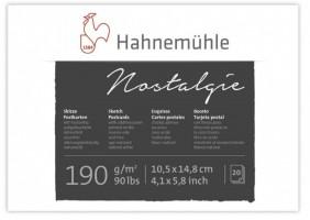 Blok poštovních pohlednic na skicování Hahnemühle A6 - 20 listů 10628220