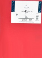 Lana Colours Paper - Hahnemühle A4 - červený 160g/m2