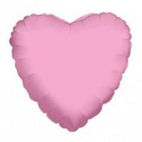 Nafukovací balónek - Srdce - světle růžové - 46 cm  K17526-18S
