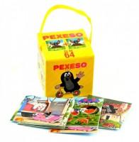 Pexeso v krabičce s úchopem - Krtek - 7165