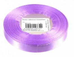 Stuha saténová 12 mm/32m - lila - 601129