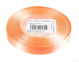 Stuha saténová 12 mm/32m - pastelová oranžová - 601147