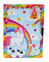 Diář se zámkem - Unicorn 393299