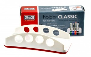 Magnetický držák popisovačů - vertikální - CLASSIC - P-AS127