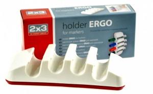 Magnetický držák popisovačů - vertikální - ERGO -P-AS128