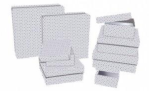 Dárková krabice - Lux set A - čtverec, 8 ks - 501116