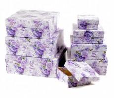 Dárková krabice - Lux set A - čtverec, 8 ks - 501202