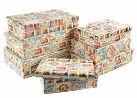 Dárková krabice Lux - set C - obdélník, 7 ks - 501207