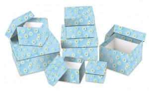 Dárková krabice - set H - krychle, 8 ks - 501203