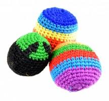 Míček - Hacky Sack - barevný - PK30-20
