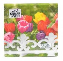 Ubrousky Gomar - L - Royal Tulips - 200027