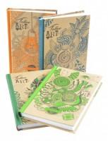 Zápisník Kraft - A6 - linka - Ditipo - 120 l - 7028