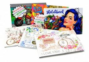 Sketchbook - 24 x 16,5 cm - 7039